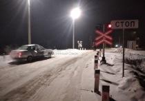 В Омске тепловоз столкнулся с легковым автомобилем