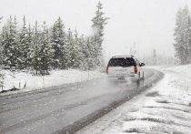В Забайкалье 25 января местами ожидается сильный снег, на дорогах могут образоваться снежный накат и гололедица