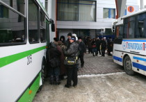 Новосибирский автовокзал отменил рейсы до Кузбасса из-за морозов