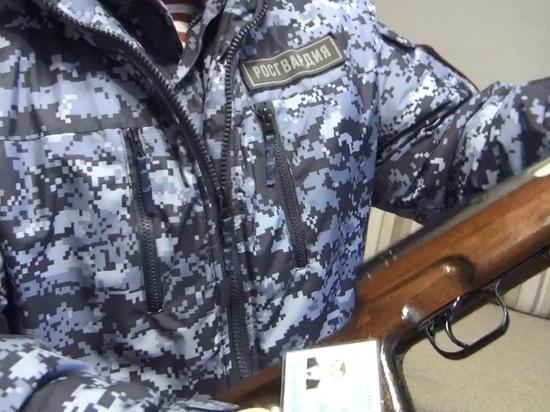 Прощай, оружие: росгвардейцы изъяли огнестрельное оружие у нескольких жителей Карелии