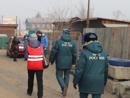 Пенсионерам бесплатно установили пожарные извещатели в Читинском районе