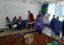 Воспитанники донецкой школы-интерната на время стали рыцарями