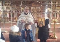 Икона Знамение Пресвятой Богородицы появилась на линии фронта в Донецке
