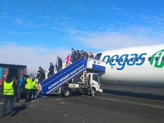 В Ош начал летать самолет из Красноярска