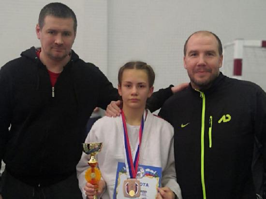 Юная дзюдоистка из Серпухова вошла в число призёров большого турнира