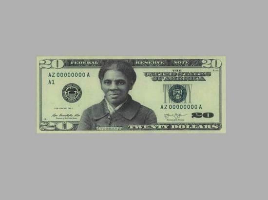 Псаки подтвердила планы поместить на купюру 20 долларов портрет афроамериканки