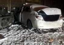 В Ангарске 16-летний подросток на машине матери врезался в грузовой поезд