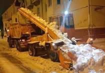В Йошкар-Оле усилена работа по уборке снега с улиц