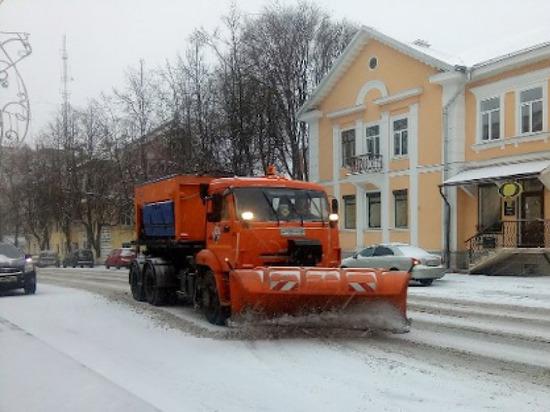 За полмесяца из Пскова вывезли 5 тысяч кубометров снега