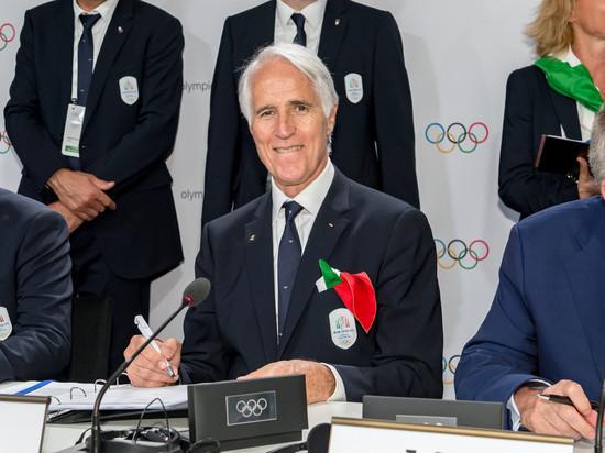 Итальянский национальный олимпийский комитет (CONI) намерен избежать санкций со стороны Международного олимпийского комитета (МОК) после того, как итальянское правительство утвердило декрет, гарантирующий автономию Национального Олимпийского комитета. Итальянцам грозит дисквалификация на Олимпийских играх-2020, почти как у России.