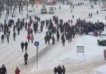 Как в Вологде прошла несанкционированная акция протеста