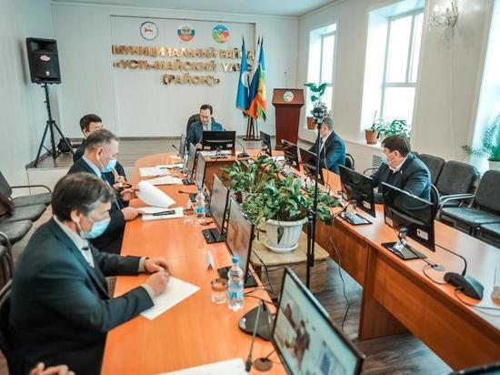 Айсен Николаев проверил ход развития Усть-Майского района Якутии