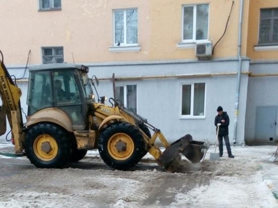В Нижнем Новгороде коммунальные службы усилили борьбу с гололедицей