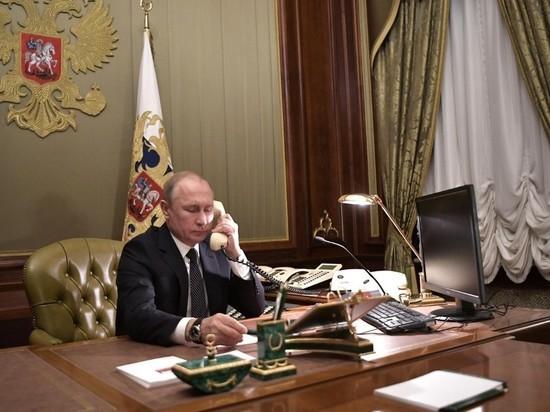 Песков: Путин сам позвонил Байдену