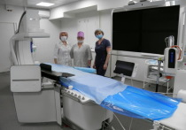 В городской больнице Йошкар-Олы введена в эксплуатацию новая ангиографическая система Azurion «Philips».