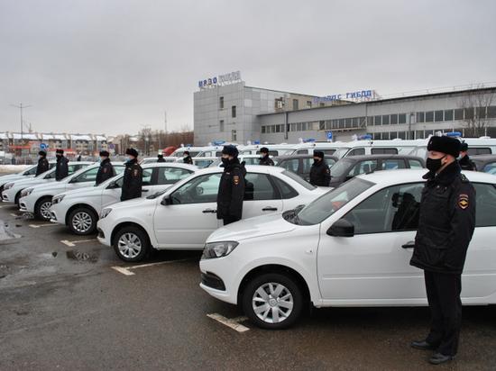 Тамбовские полицейские получили более 30 новых служебных машин