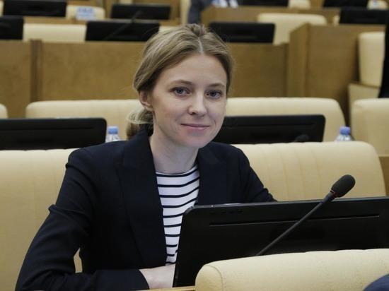Наталья Поклонская рассказала о возможном будущем месте работы