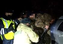 В Хакасии погоня за браконьерами закончилось автоаварией
