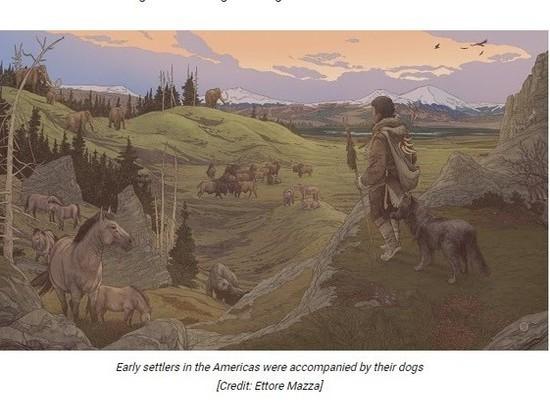 Международная группа исследователей во главе с археологом Анджелой Перри из Даремского университета в Великобритании изучила археологические и генетические записи древних людей и собак