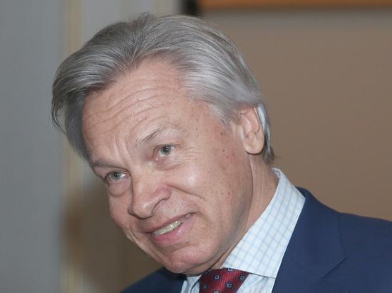Российский сенатор Алексей Пушков резко отреагировал на заявление генсека НАТО Йенса Столтенберга