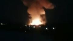 В Перми произошел пожар на пороховом заводе: кадры с места