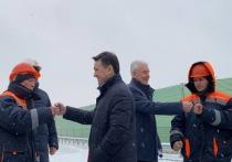Андрей Воробьев и Сергей Собянин дали старт движению по новому путепроводу