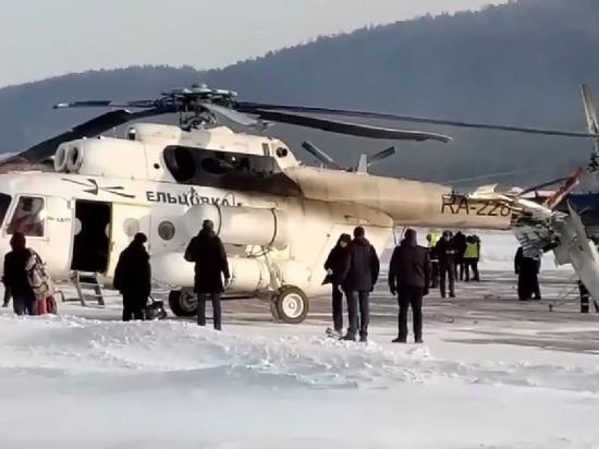 Под Красноярском Ми-8 задел здание аэровокзала