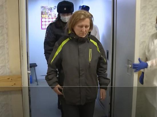 Женщину ударил ногой полицейской на несогласованной акции