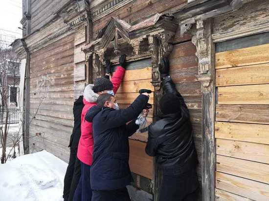 В Нижнем Новгороде вернули наличник на объект культурного наследия