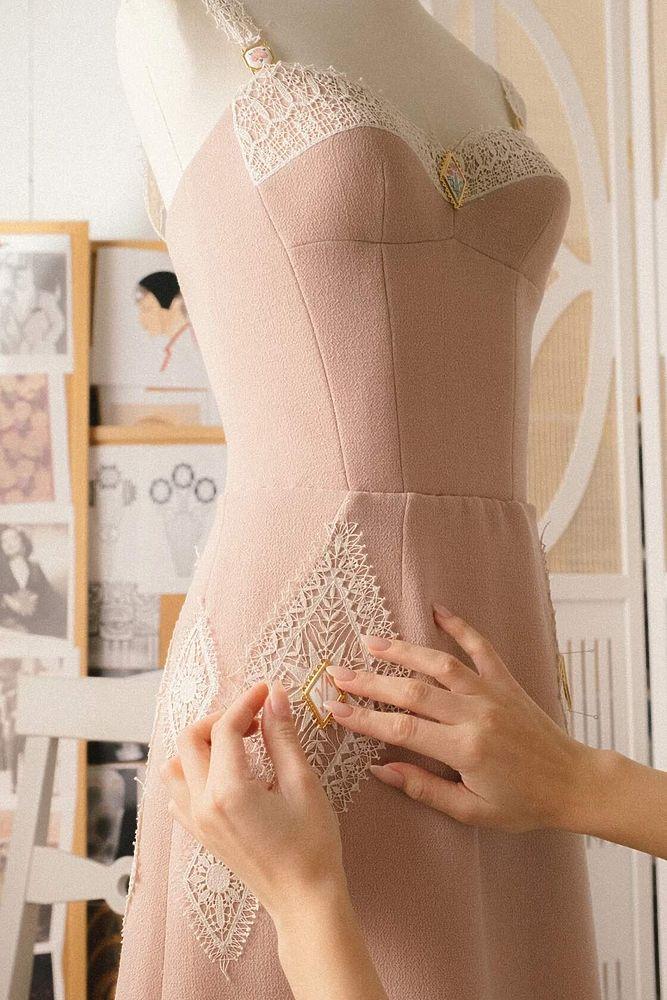 Кадомский вениз на Неделе моды в Париже: фото знаменитого рязанского кружева