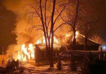 В Чехове у священника сгорел дом