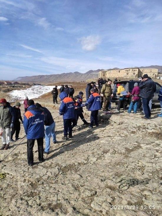 В Дагестане гид упал с обрыва