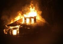 В Ивановской области поздно вечером произошел пожар, в котором пострадал один человек
