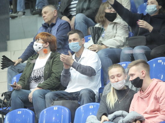 В Нижегородской области увеличено количество зрителей спортивных соревнований