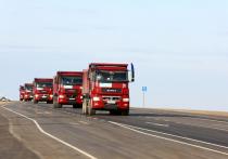 В Калмыкии открыли автотрассу Астрахань-Махачкала