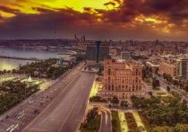 Российско-турецкий центр по мониторингу за перемирием в Карабахе открыли 30 января в Азербайджане, сообщает корреспондент «МК» с места события