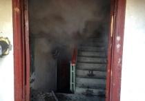 Под утро в Ивановской области загорелась лестничная клетка МКД