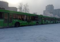 Несколько задержанных на шествии красноярцев выпрыгнули из полицейского автобуса