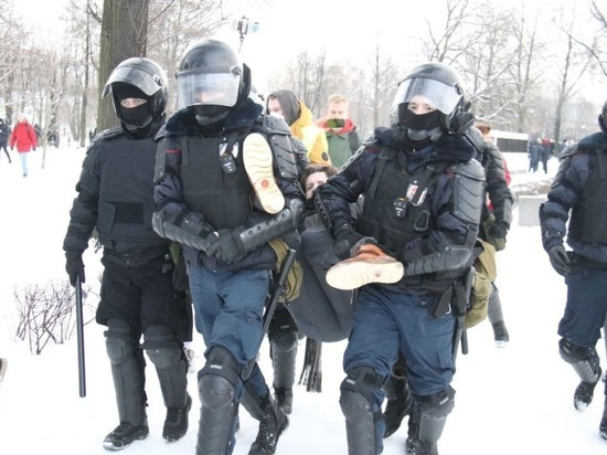 Несогласованный митинг 31 января в Петербурге: онлайн-трансляция