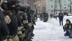 На Сухаревской идут задержания митингующих: видео