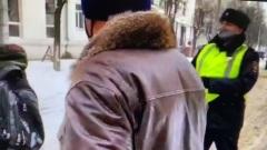 В Костроме 31 янавря полиция была очень вежливой с протестующими