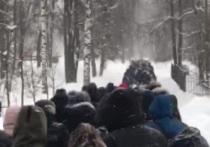 """Сегодня, 31 января, кировчане вышли на митинг в поддержку Навального, об этом сообщает информационный портал """"Первоисточник"""""""
