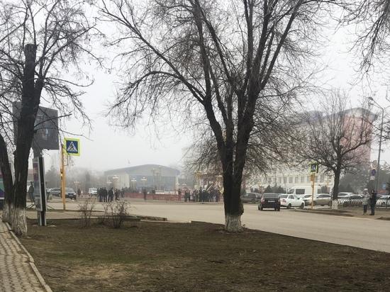 В столице Калмыкии оцепили Пагоду Семи дней