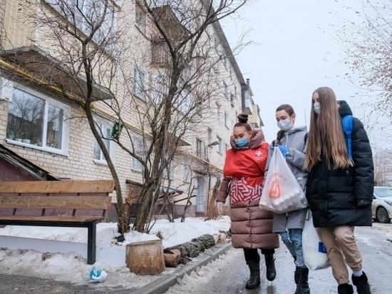 Школьники из Волгограда помогают пожилым людям