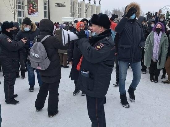 В Ижевске на повторном митинге в поддержку Навального прошли задержания