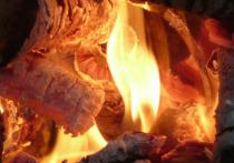 При пожаре в Донецке пострадал мужчина