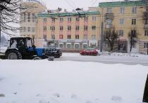 В январе на Йошкар-Олу выпало 140% месячной нормы снега