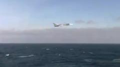 Российский Су-24 пролетел вблизи американского эсминца и попал на видео