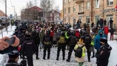 Как ОМОН не пускал гулять мирных протестующих 31 января