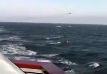 Российский бомбардировщик Су-24 совершил предупредительный вираж вблизи американского эсминца «Дональд Кук» в Черном море